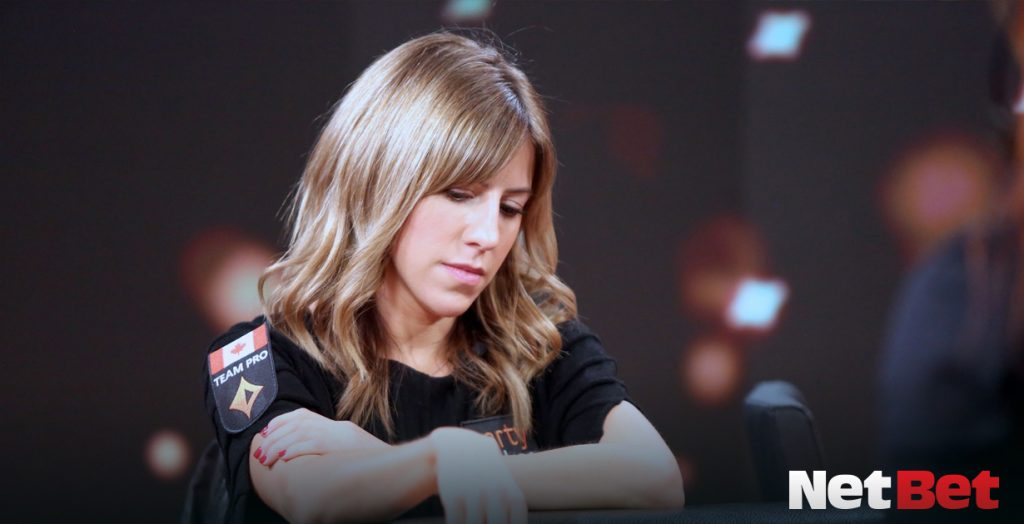 Kirsten Bicknell - one of the most famous female poker players in the world