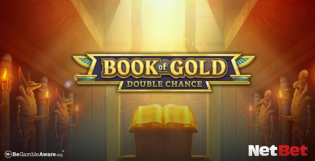 Book of Gold themed slot