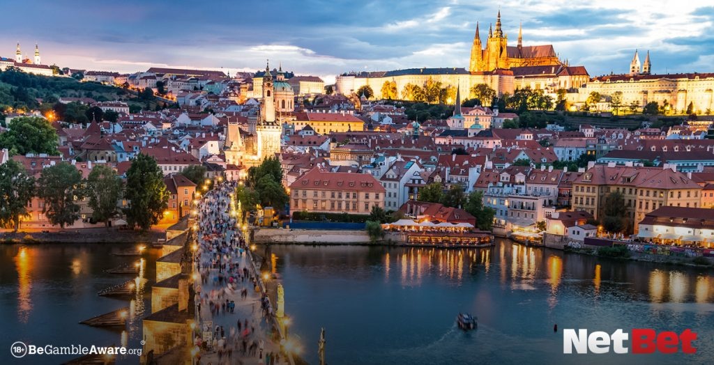 Gambling tourism in Prague