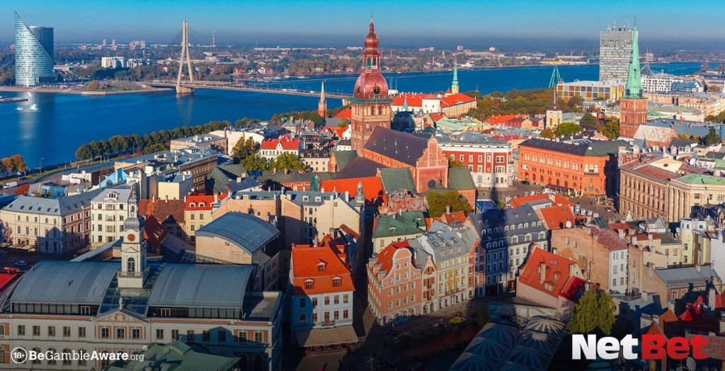 Riga is one of the top gambling destinations in Europe
