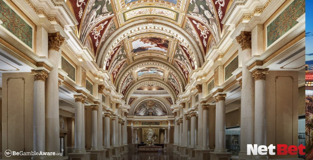 The Venetian real casino from the movies