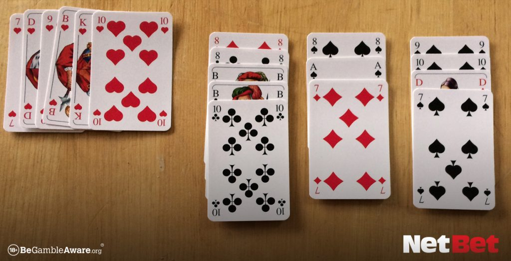 single Games to play with cards